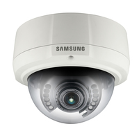 Samsung SNV-1080 IP security camera Interno e esterno Capocorda Avorio