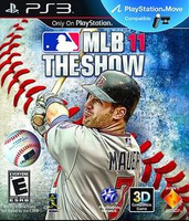 Sony MLB 11 The Show, PS3 PlayStation 3 videogioco