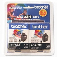 Brother Inkjet Cartridge 2-Pack Black Nero cartuccia d
