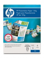 HP Soft-gloss Presentation Paper 120 gsm-200 sht/Letter/8.5 x 11 in carta inkjet