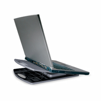 "Kensington Portable Notebook Cooling Stand 17"" Nero, Grigio base di raffreddamento per notebook"