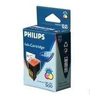Philips Color Inkjet Cartridge CMY Ciano, Giallo cartuccia d