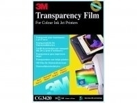 3M Ink Jet Printer Transparency Film (50 sheets) pellicola trasparente