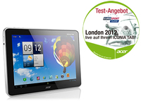 Acer Iconia A510 32GB Argento tablet