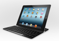 Logitech Ultrathin Keyboard Cover Bluetooth QWERTY Pan Nordic Nero tastiera per dispositivo mobile
