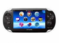 "Sony PS Vita 5"" Touch screen Wi-Fi Nero console da gioco portatile"