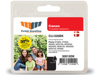 MM Black Inkjet Cartridge - Replaces Canon CLI-526BK (4540B001) - 30% Extra ink compared to OEM Nero cartuccia d