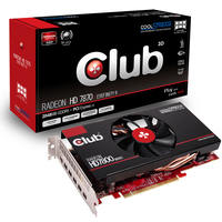 CLUB3D CGAX-7876M6 Radeon HD7870 2GB GDDR5 scheda video