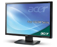 "Acer Essential V223WLAObd 22"" TN+Film Nero monitor piatto per PC"