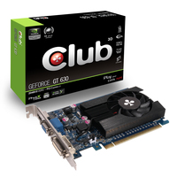 CLUB3D GeForce GT 630 2048MB DDR3 GeForce GT 630 2GB GDDR3