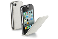 Cellularline Flap Essential For iPhone 4/4S Custodia a libro Bianco