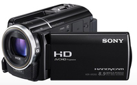 Sony HDR-XR260V Videocamera palmare 8.9MP CMOS Full HD Nero