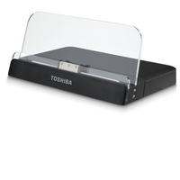 Toshiba PA5015E-1PAP Nero, Trasparente replicatore di porte e docking station per notebook