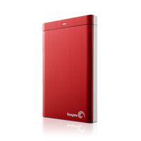 Seagate 500GB Backup Plus Portable 500GB Rosso disco rigido esterno