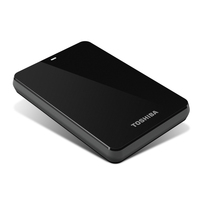 Toshiba 1.5TB Canvio Basics 3.0 1500GB Nero disco rigido esterno