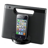 Sony RDP-M7iP 2.0canali 4W Nero docking station con altoparlanti