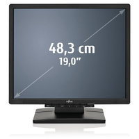"Fujitsu E line E19-6-LED 19"" TN+Film Nero monitor piatto per PC"