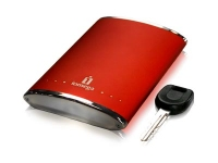 Iomega eGo 350GB Portable Hard Drive Red 350GB Rosso disco rigido esterno