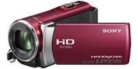 Sony HDR-CX200+Bundle Videocamera palmare 5.3MP CMOS Full HD Rosso