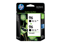 HP 96 2-pack Black Nero cartuccia d