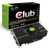 CLUB3D GeForce GTX 560 SE GeForce GTX 560 1GB GDDR5