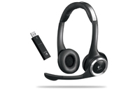 Logitech ClearChat PC Wireless Stereofonico Nero cuffia e auricolare