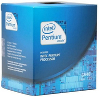 Intel Pentium ® ® Processor G640 (3M Cache, 2.80 GHz) 2.8GHz 3MB Cache intelligente Scatola processore