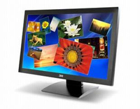 "3M M2467PW 24"" 1920 x 1080Pixel Nero monitor touch screen"