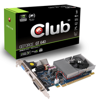 CLUB3D GeForce GT 640 2048MB DDR3 GeForce GT 640 2GB GDDR3