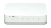 D-Link GO-SW-5G No gestito L2 Gigabit Ethernet (10/100/1000) Bianco