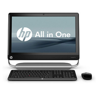 "HP TouchSmart Elite 7320 3.3GHz i3-2120 21.5"" 1920 x 1080Pixel Touch screen Nero, Grigio"