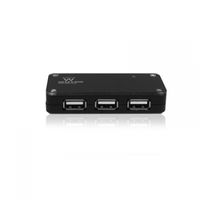 HUB 4 PORTE USB 2.0 ALIMENTATO EW1121