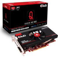 CLUB3D CGAX-7852F Radeon HD7850 1GB GDDR5 scheda video