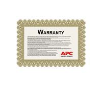 APC 1 Year Extended Warranty, Parts Only, f/ DX 50-68 kW