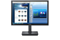 "Samsung TS240W 24"" Nero monitor piatto per PC"