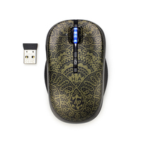 HP 2.4GHz Wireless Optical Alexandre Hercovitch SE RF Wireless Ottico Ambidestro mouse