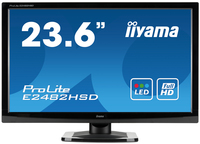 "iiyama ProLite E2482HSD-B 23.6"" Full HD TN+Film Nero monitor piatto per PC"