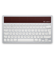 Logitech K760 Bluetooth QWERTY Inglese Bianco tastiera per dispositivo mobile