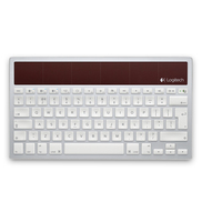 Logitech K760 Bluetooth QWERTY Bianco tastiera per dispositivo mobile