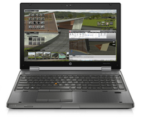 "HP EliteBook 8570w 2.3GHz i7-3610QM 15.6"" 1920 x 1080Pixel Carbonella, Grigio Workstation mobile"