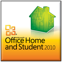 HP Microsoft Office Home and Student 2010, SP1, POR Portoghese