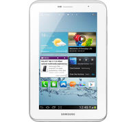 Samsung Galaxy Tab 2 7.0 16GB 3G Bianco tablet
