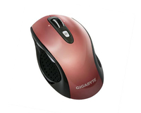 Gigabyte M7700 RF Wireless Laser 1600DPI Rosso mouse