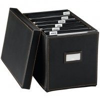 Case Logic Collapsible Media Storage Box Nero