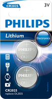 Philips Minicells Batteria CR2025P2/01B