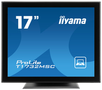"iiyama ProLite T1732MSC-B1 17"" 1280 x 1024Pixel Da tavolo Nero monitor touch screen"