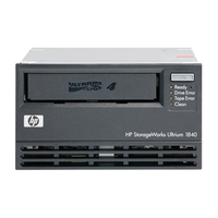 HP StorageWorks LTO-4 Ultrium 1840 SCSI Internal WW Tape Drive Interno LTO 800GB lettore di cassetta