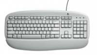 Logitech Value Keyboard PS/2 Grigio tastiera