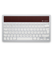 Logitech K760 Bluetooth AZERTY Bianco tastiera per dispositivo mobile