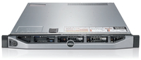 DELL PowerEdge R620 Rastrelliera (1U) Argento